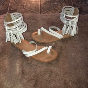 Jeffrey Campbell at Free Peopla Glady Sandals.